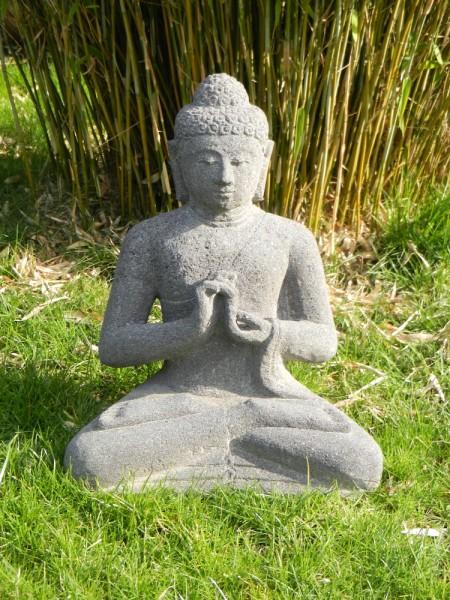 Stein Buddha-kein Guss - lehrend