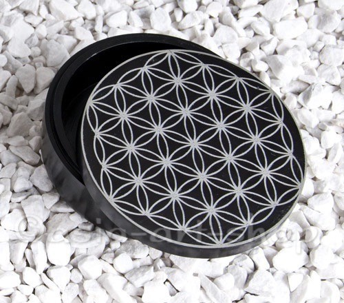 Stone Box Flower of Life