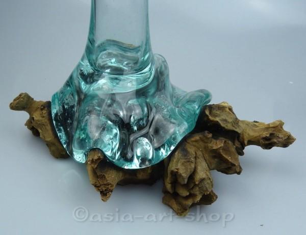 Vase auf Wurzel-Flow-