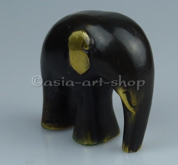 éléphant en bronze-moderne