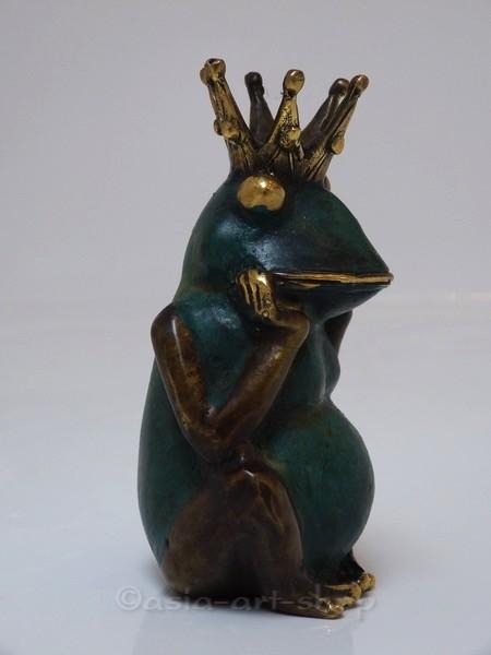 Le Roi Grenouille vert