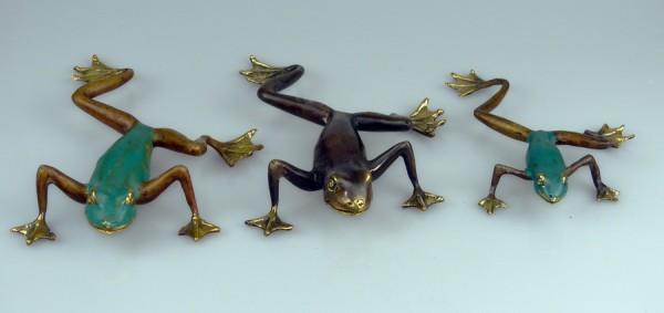 Bronze Frosch