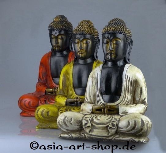 Buddha Fiberglas, 30cm