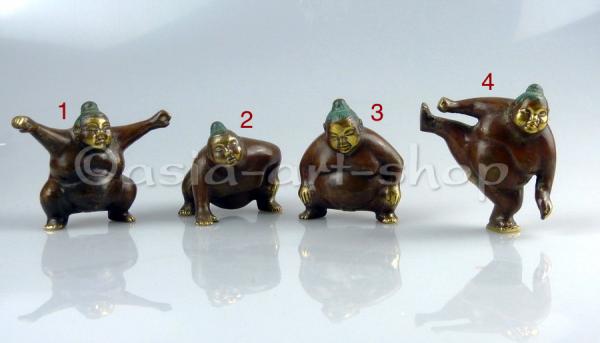 Sumo Ringer aus Bronze