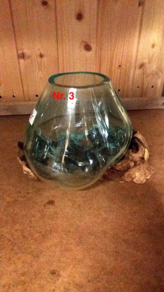 Vase auf Wurzel S Nr.3