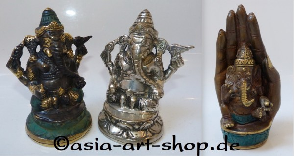 Ganesha bronze, in different sizes and designes