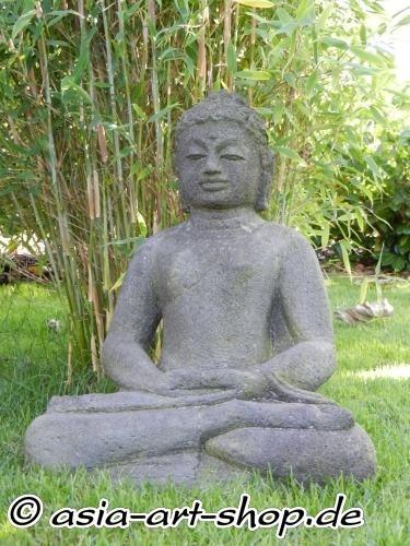 Stein Buddha handgehauen