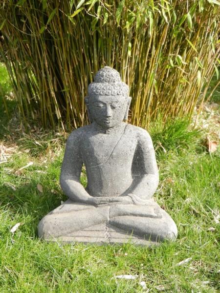 Stein Buddha-kein Guss