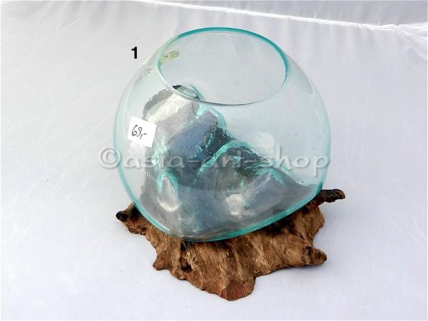 vase sur bois du caféier-M-