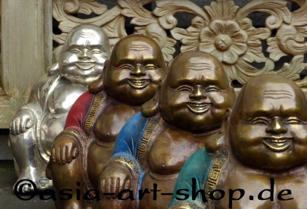 Bronze Happy Buddha, big