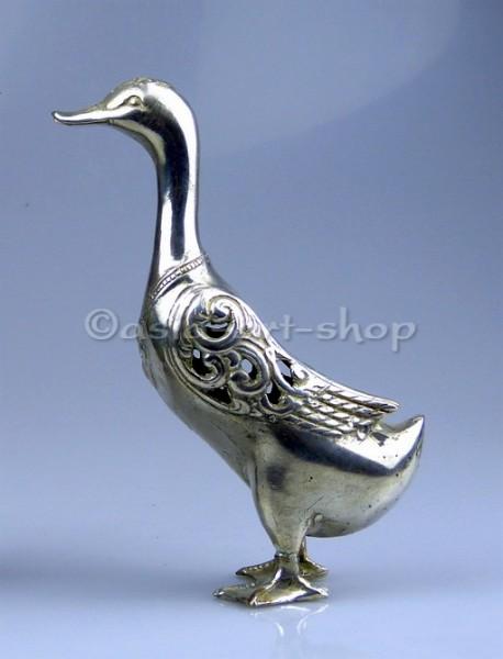 canard en bronze
