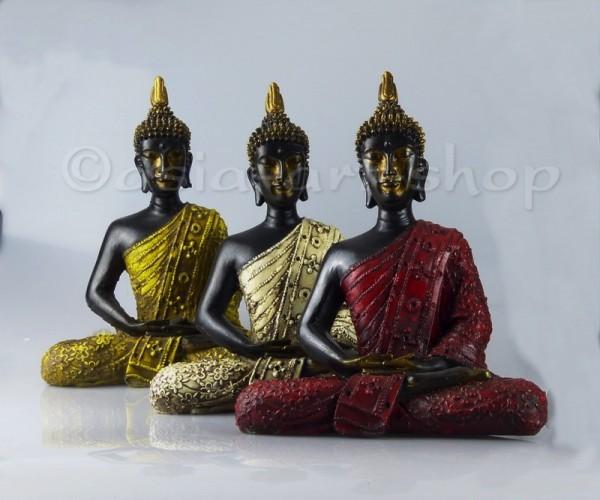 Bouddha Thai en fibre de verre 27 cm