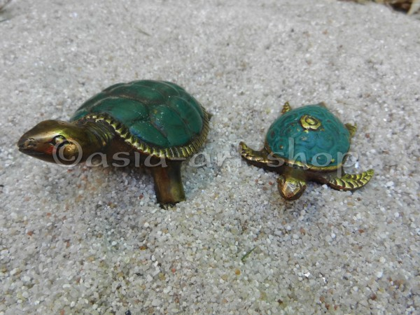 bronze turtles