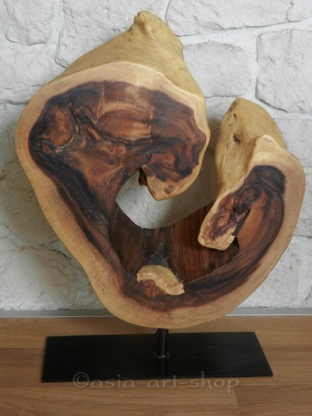 Holzscheibe aus asiatischer Akazie