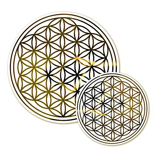 Flower of life - sticker 28 cm removable and reusable