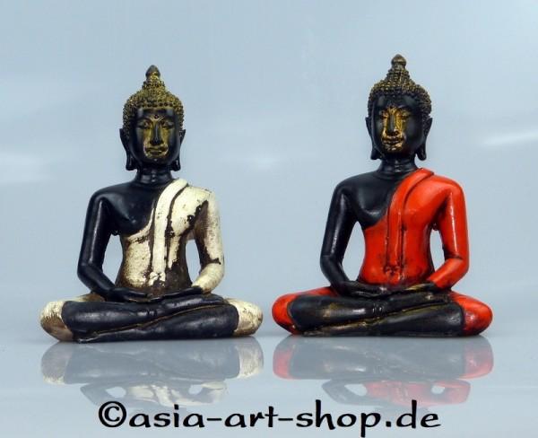 Bouddha Thai en fibre de verre 14 cm